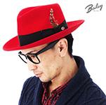 Шляпа BAILEY арт. 7002 FEDORA (красный)